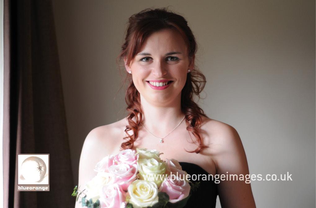 Bridesmaid – Denham Grove wedding venue, Bucks