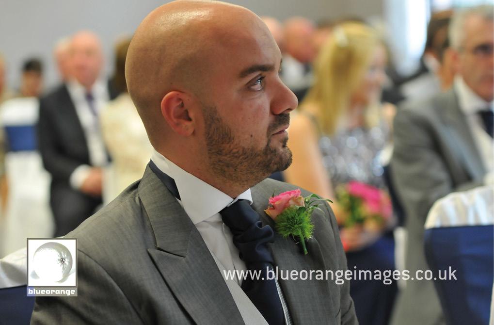 bridegroom at the wedding ceremony