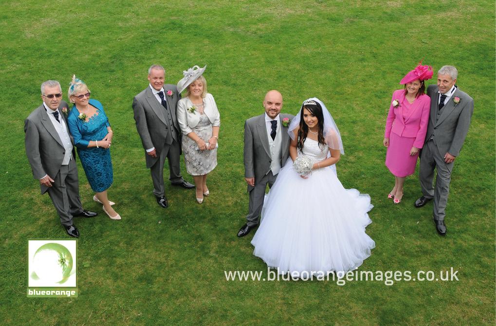 Wedding photos: parents of the wedding couple, Denham Grove
