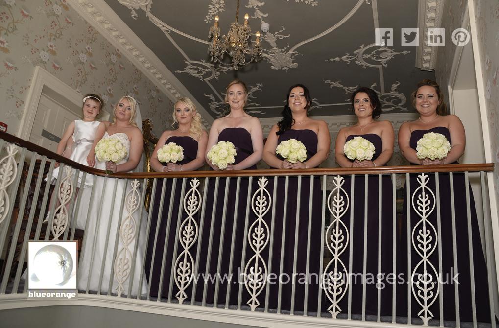 Bride & bridesmaids St Michaels Manor Hotel, St Albans