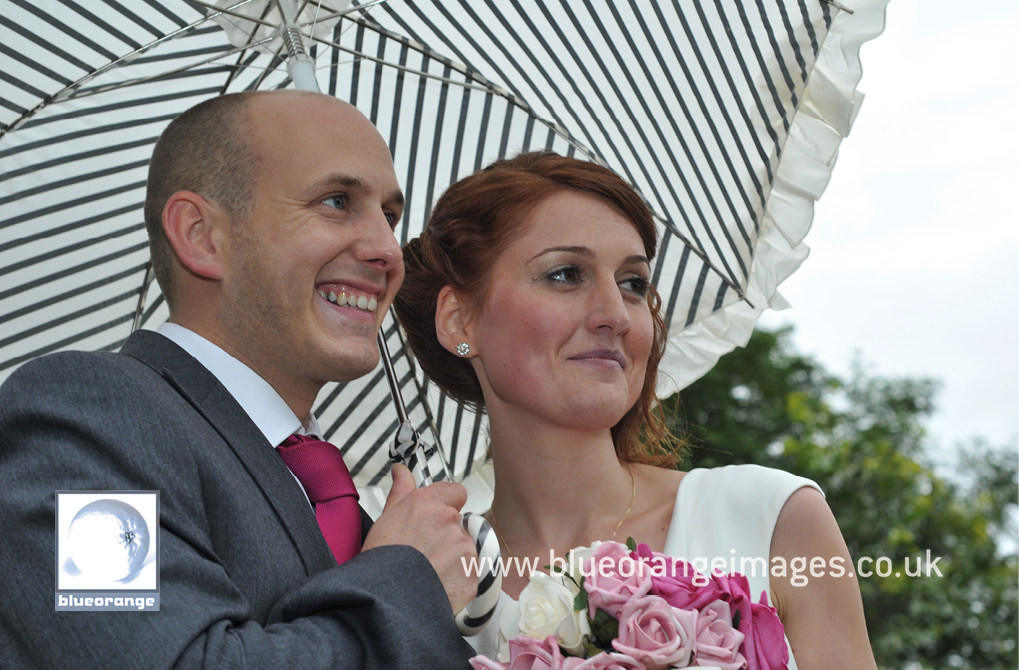 Emma & Paul's wedding – and the parasol