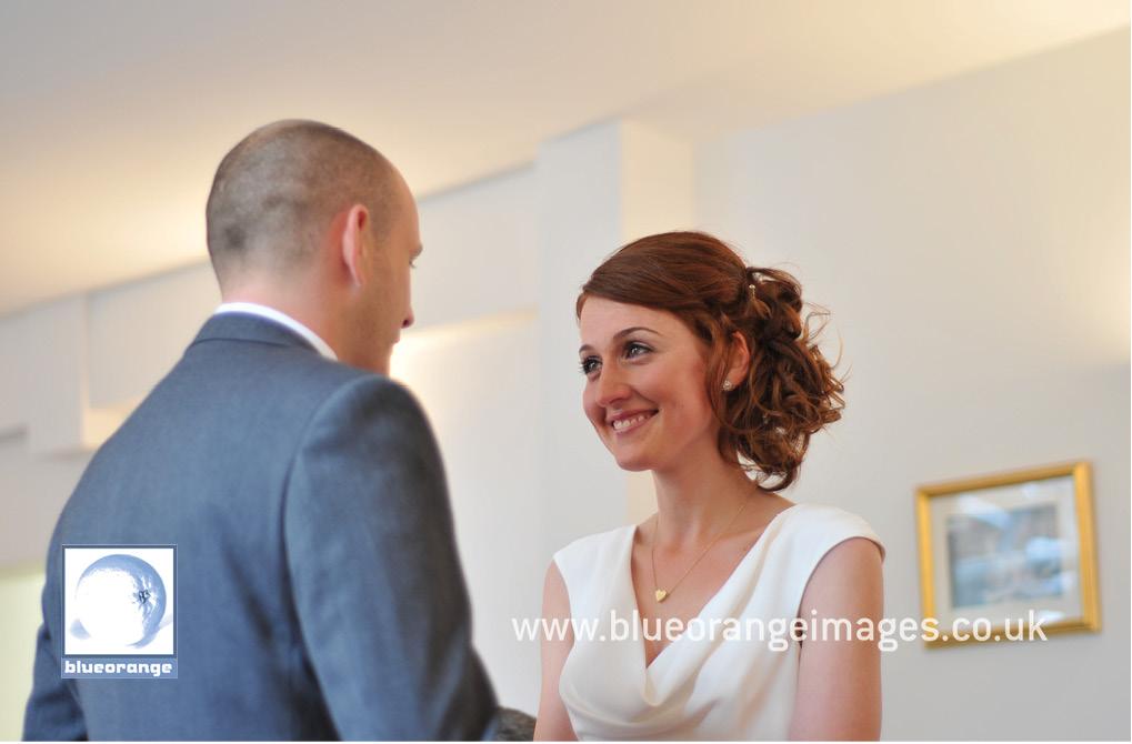 Bride and groom at Watford Register Office