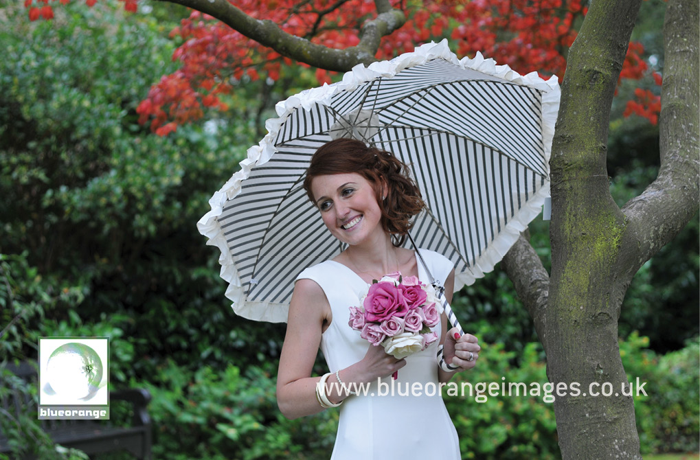 Emma and the wonderful parasol, Cheslyn Gardens, Watford