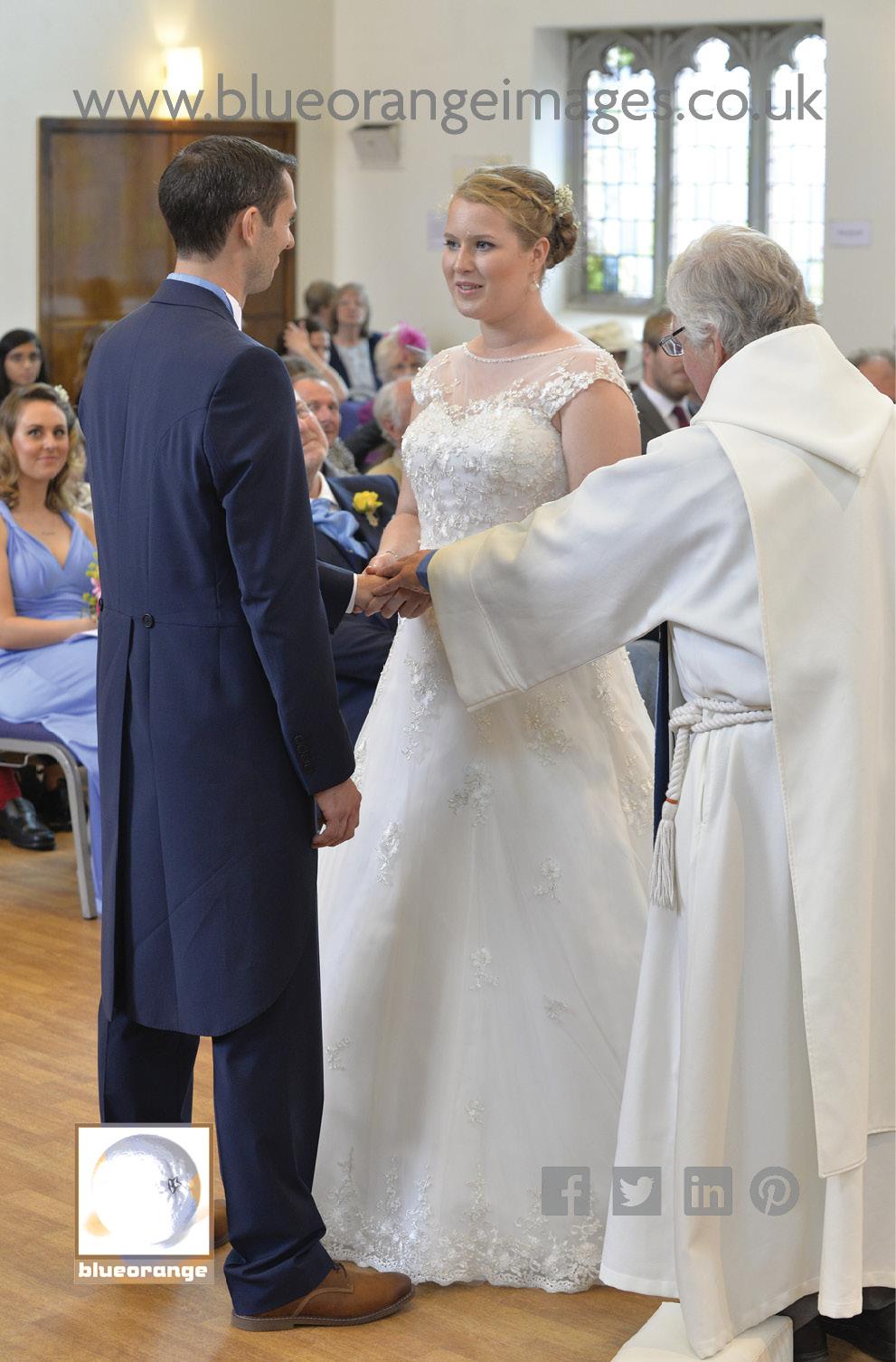 Katriona & Nick's wedding ceremony St Albans