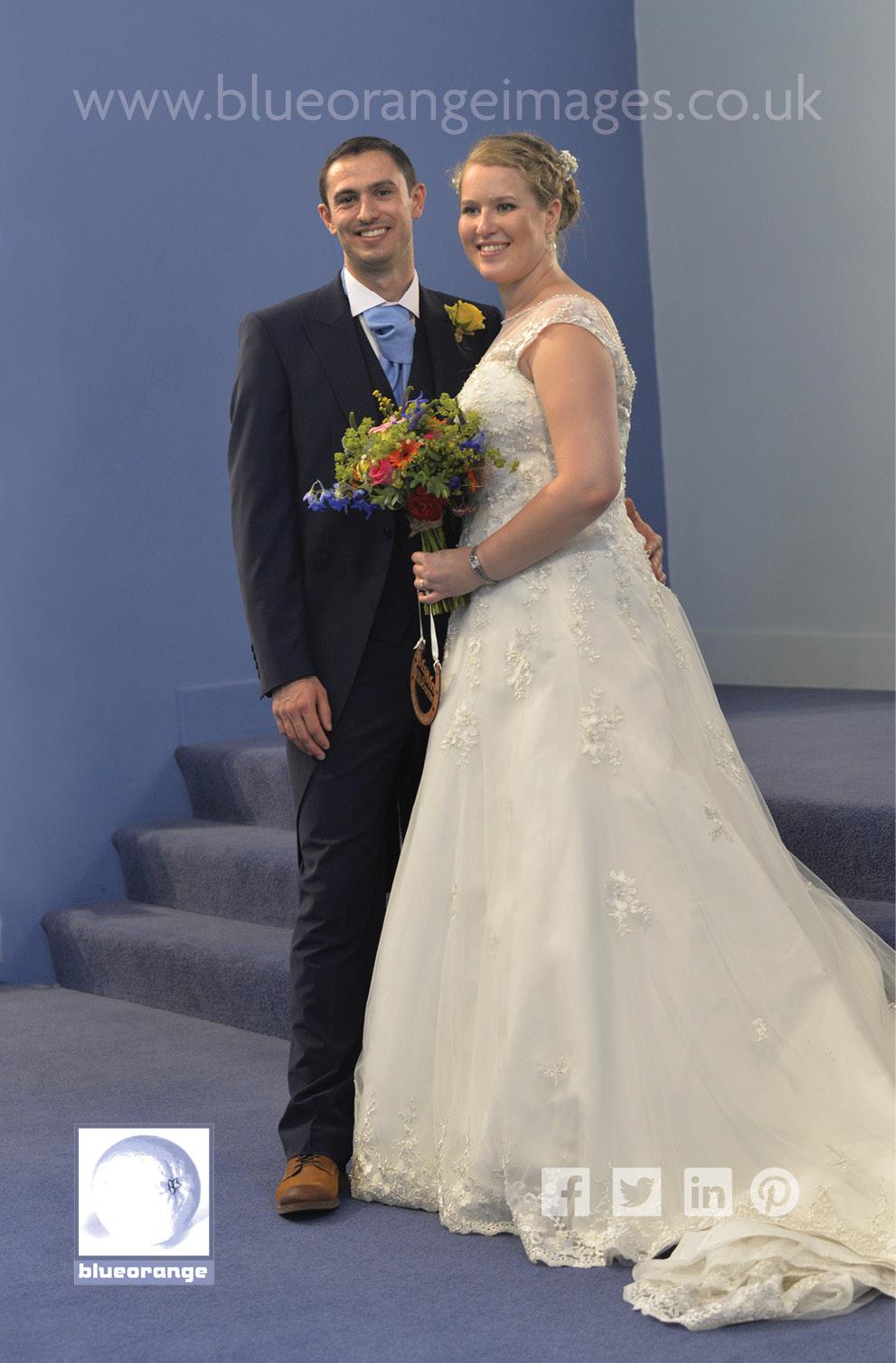 Katriona & Nick's wedding ceremony St Albans, Herts