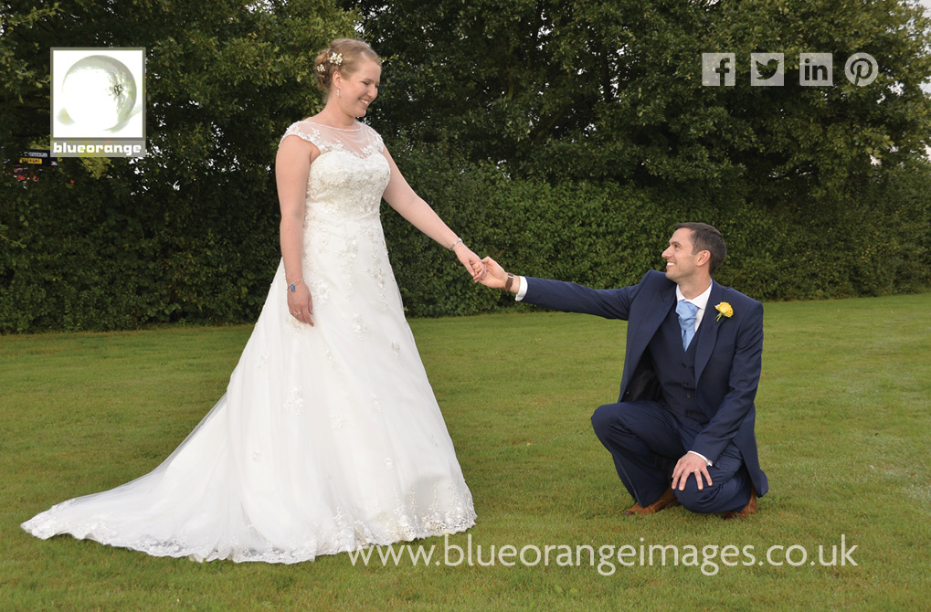 Katriona & Nick's marquee wedding reception in Sandridge, St Albans