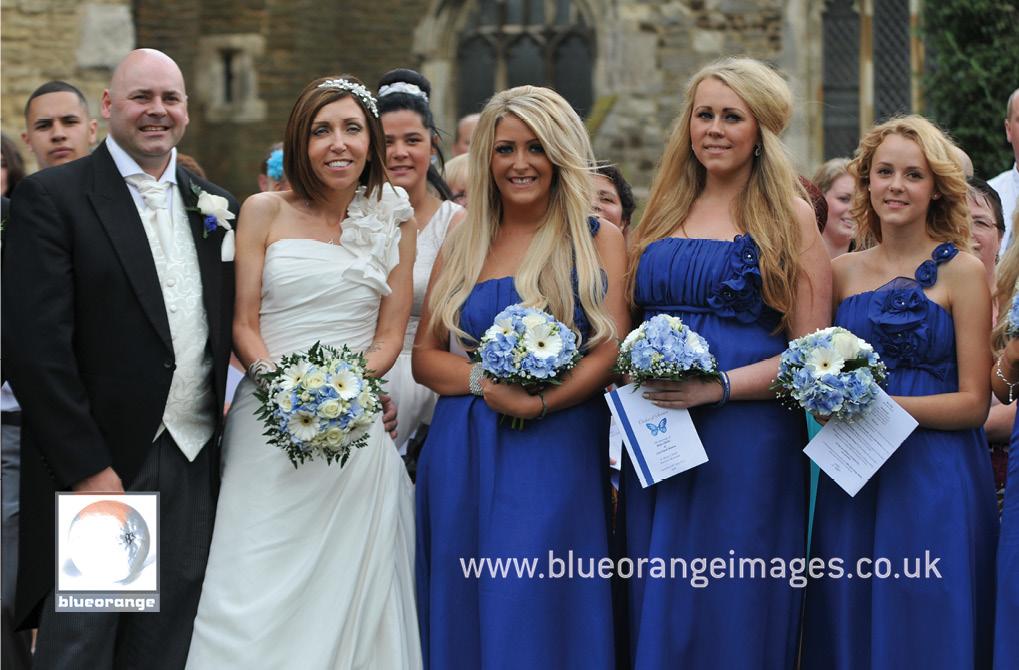 St Mary's Marston Moretaine wedding photos – Lisa & Brian