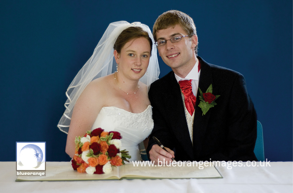 A wedding in Bushey, Herts
