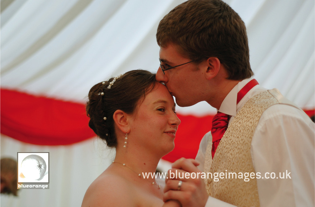 Hannah and John's wedding first dance