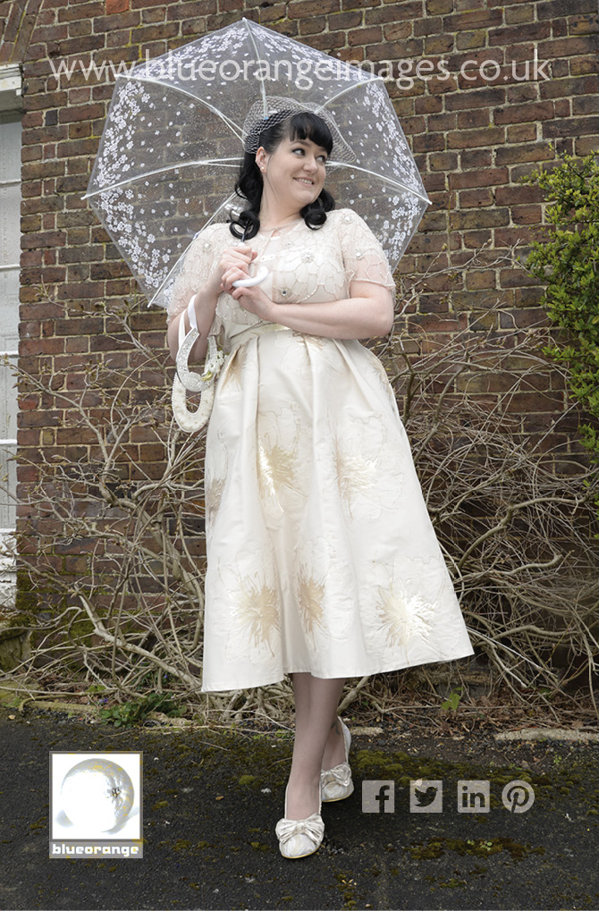 Introducing Carrie a beautiful vintage bride