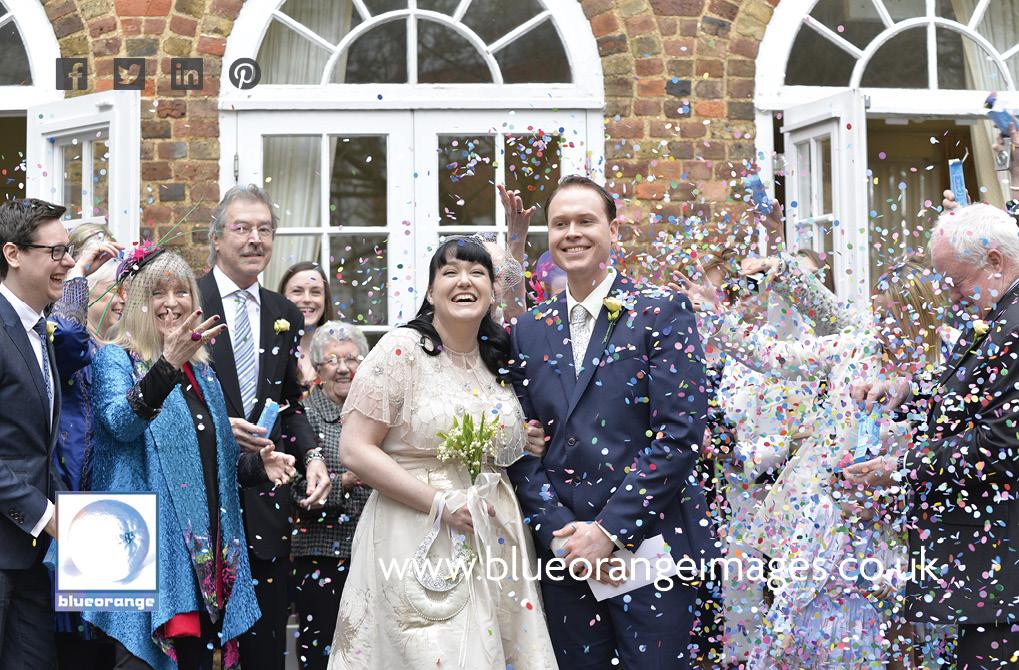 Carrie & Matt, Watford register office wedding