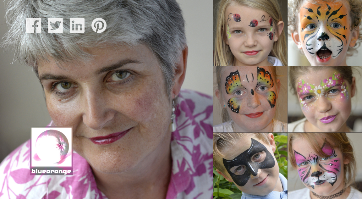 Edna – face painter & glitter tattoos, Watford