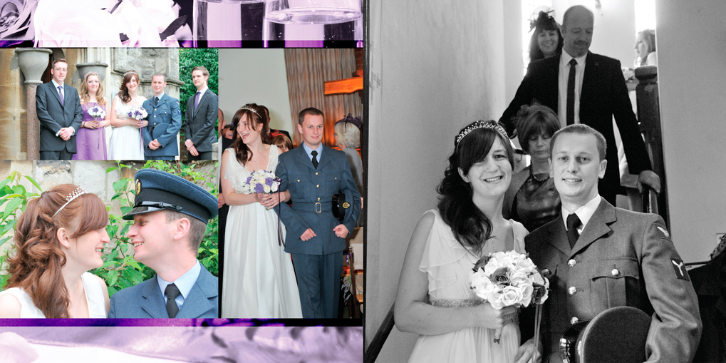 Wedding at Bushey Baptist Church & Sun Postal Social Club, Watford