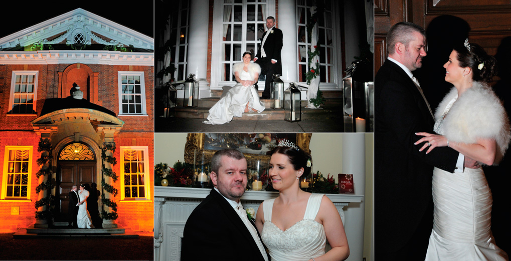 wedding album Hunton Park, Chrissie & Jon