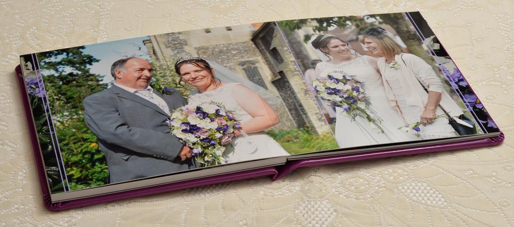 Clare & Nick's wedding album, St Michael & All Angels Church & Watford FC