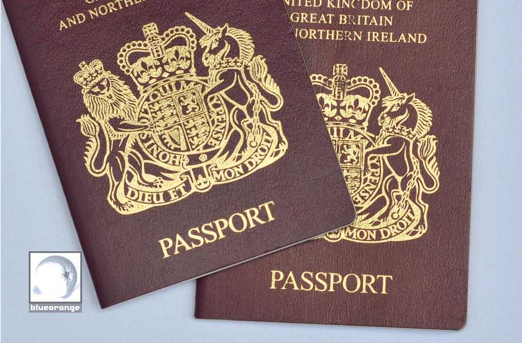 Blue Orange Images passport photos, Watford