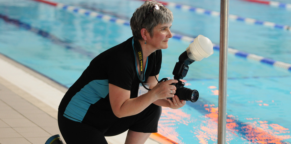 Edna – photography for a swimming gala at Woodside Leisure Centre