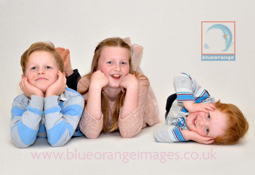Family photoshoot gift voucher, Blue Orange Images, Watford
