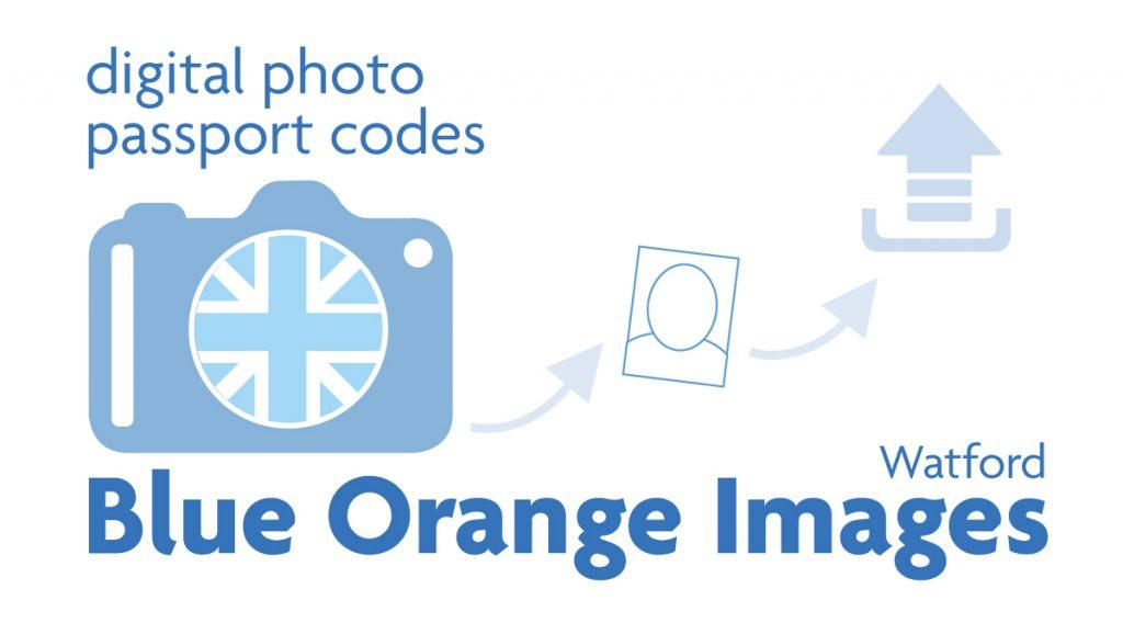 UK digital passport code in Watford from Blue Orange Images