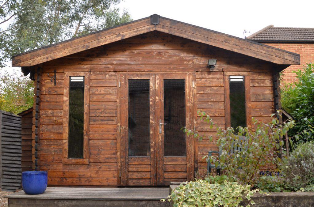 Our garden office / studio, Blue Orange Images Photographers, Abbots Langley, Watford