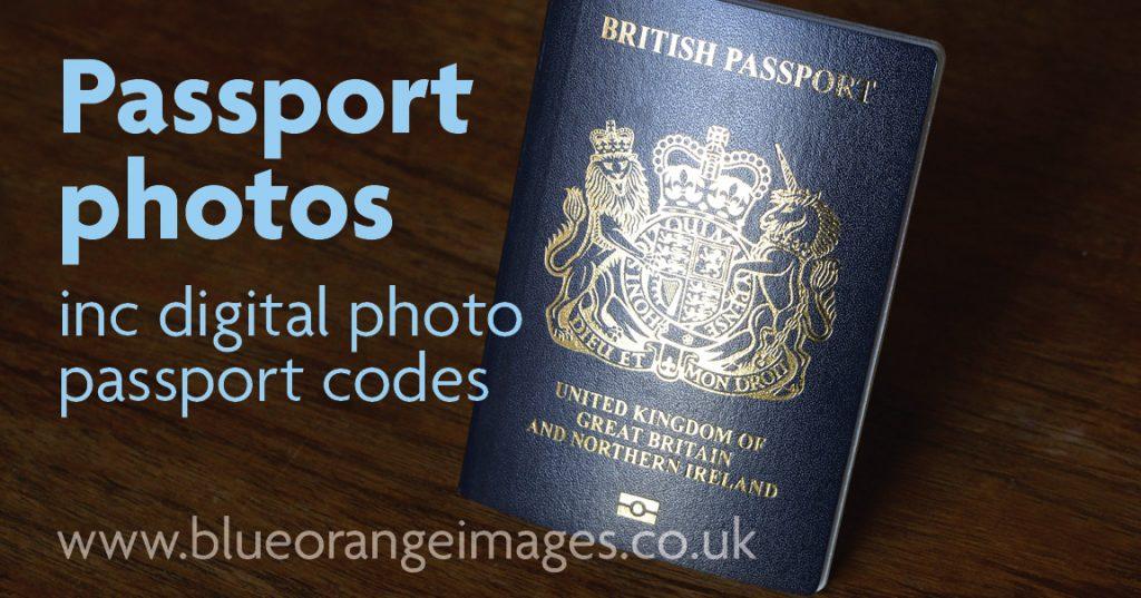 Digital passport photo codes, Blue Orange Images, Watford