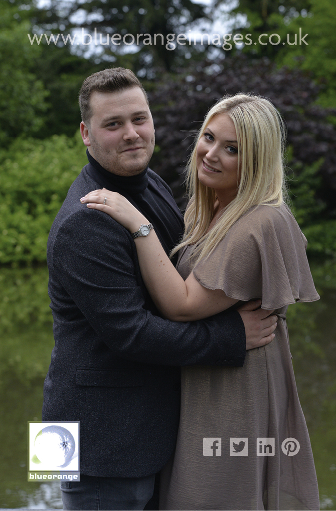 Engagement photos, St Michael's Manor, St Albans, Herts